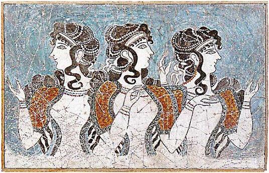Cretan ladies