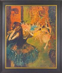 """Painting """"Ballett Scene"""" (about 1885)"""