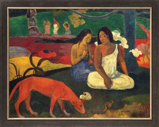 """Paul Gauguin: Bild """"Arearea"""" (1892), gerahmt"""