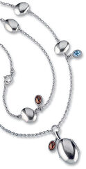 Necklace with locket 'Father's Daughter', 925 sterling silver