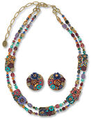 "Jewelry set ""Spring"""
