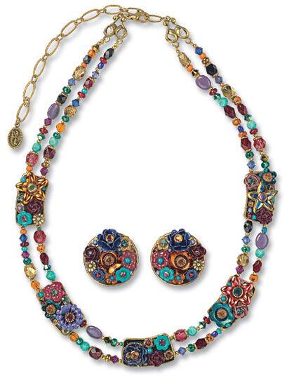 "Michal Golan: Jewelry set ""Spring"""