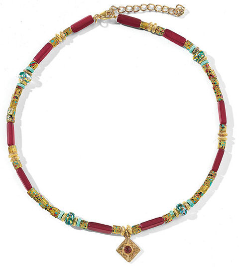 "Petra Waszak: Necklace ""Laburnum"""