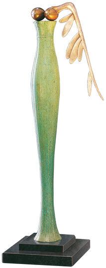 Paul Wunderlich: Sculpture 'Winged Nike' (2004), bronze