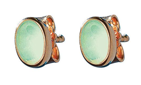 """Georg & Hans J. Müller: Pierced Earrings """"La Perle Orientale"""""""