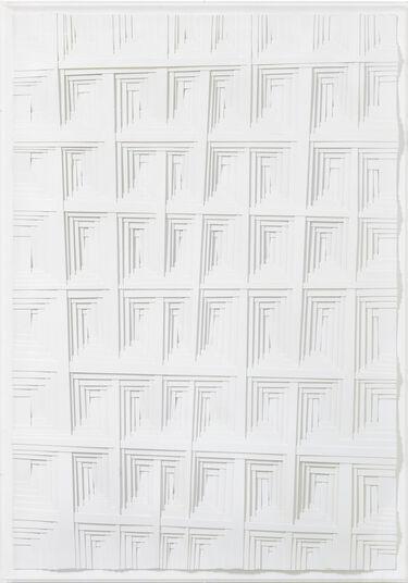 "Lothar Guderian: Bild ""Rechter Winkel 2"" (2017) (Unikat)"