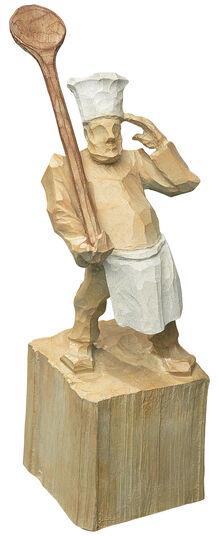 """Roman Johann Strobl: Sculpture """"Cook"""""""