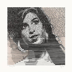 "Bild ""Amy and her drinks - Tawny Port"" (2014) (Unikat)"