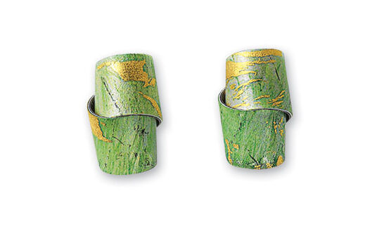"""Kreuchauff-Design: Ohrstecker """"Rainforest"""""""