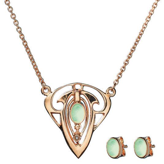 "Georg & Hans J. Müller: Jewellery Set ""La Perle Orientale"""
