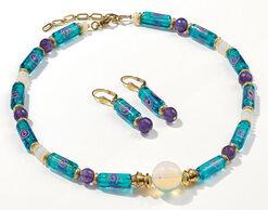 "Jewellery Set ""Nympheas"""