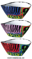"""The Magical Garden"" Set of 3 Bowls"