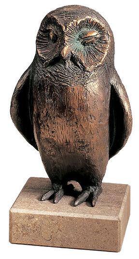 """Kurt Arentz: Skulptur """"Stille Wächterin der Mondnacht"""", Bronze"""