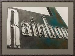 """Bild """"Neon Rainbow"""" (2015) (Unikat)"""