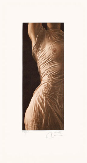 "Willi Kissmer: Bild ""Draperie"" (2008), ungerahmt"