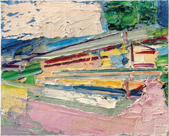 "Bild ""Landschaft 13"" (2011) (Original / Unikat), ungerahmt"