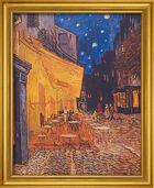 """Bild """"Caféterrasse am Abend"""" (1888), gerahmt"""