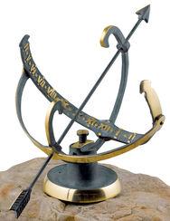 "Sundial ""Redwood Forest"", bronze"