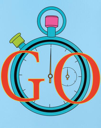 "Michael Craig-Martin: Bild ""Go"" (2011)"