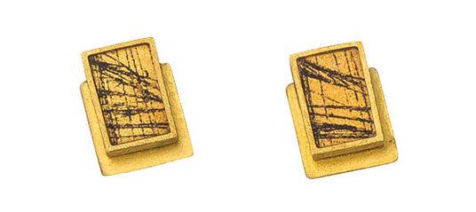"""Kreuchauff-Design: Ohrstecker """"Golden Days"""""""