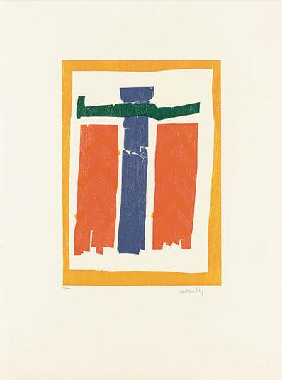 """HAP Grieshaber: Bild """"Sühneengel"""" (1966)"""