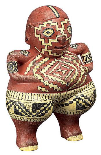 Mexican fertility puppet