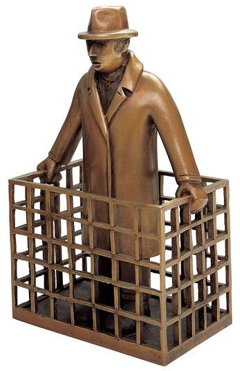 """Siegfried Neuenhausen: """"Man With Parcel"""""""