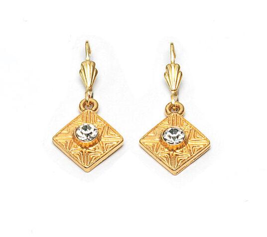 "Petra Waszak: Earrings ""Gold Flower"""