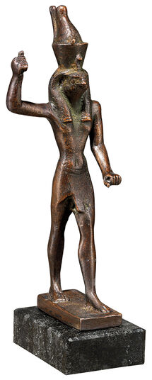 "Replica ""Horus as Avenger"", metal casting"