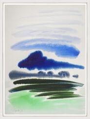 "Bild ""Hallighäuser"" (1982) (Unikat)"