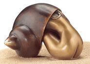 """Skulptur """"Donna Conchiglia"""", Bronze"""