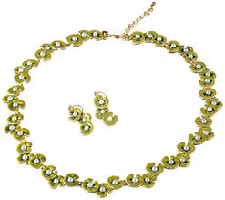 "Jewellery set ""Water Lilies"""