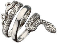 "Snake Jewellery ""Apophis-Ring"", 925 Sterling Silver"
