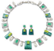 "Jewellery set ""Eve"""