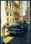 "Bild ""A Man and his Car"", gerahmt"