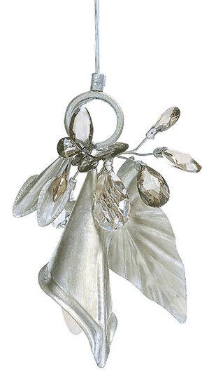 "Hanging lamp ""Calla"" wit Swarovski crystals"