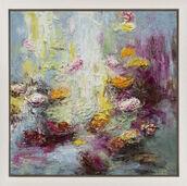 """Bild """"Blüten am Fluss I"""" (2016) (Unikat)"""