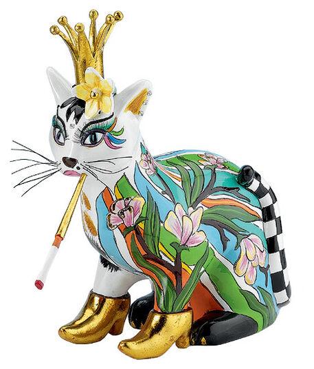 Thomas Hoffmann / Tom's Drag: Cat sculpture 'Lady Victoria'