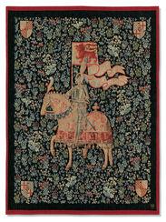 """Wandteppich """"Le Chevalier - Der Ritter"""""""