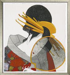 """Bild """"Geisha Soviética"""" (2009), gerahmt"""