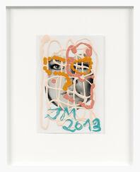 """Bild """"Claudia (Rosa)"""" (2013) (Unikat)"""
