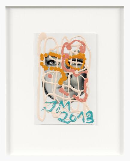 """Jonathan Meese: Bild """"Claudia (Rosa)"""" (2013) (Unikat)"""