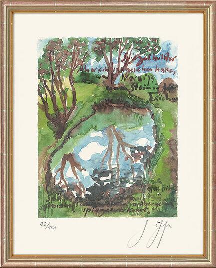 """Günter Grass: Bild """"Spiegelbilder"""" (2006)"""