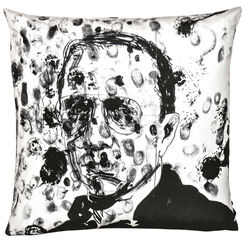 "Kissen ""Art 17 Bruce Labruce"" (2014) - aus Künstleredition ""art pillows"""