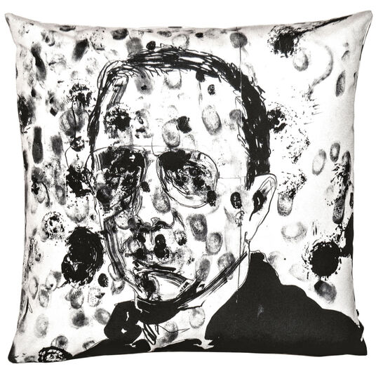 "Robert Knoke: Kissen ""Art 17 Bruce Labruce"" (2014) - aus Künstleredition ""art pillows"""