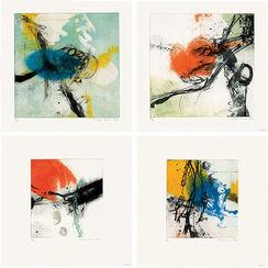 """4 Bilder """"Ohne Titel"""" (2011/2012) im Set"""