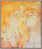 """Bild """"Sitzende"""" (2006) (Original / Unikat), gerahmt"""