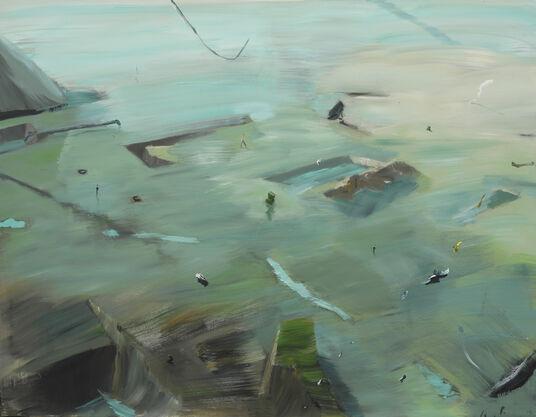 "Hartmut Piniek: Bild ""Erkundung"" (2014) (Unikat)"