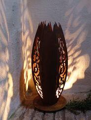 Gartenstele/Lichtobjekt (groß, Höhe 1 m)