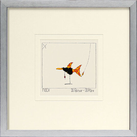 "Michael Ferner: Picture ""Pisces (20.2.-20.3.)"""
